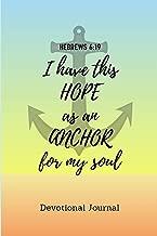 Devotional Journal: Anchor Design