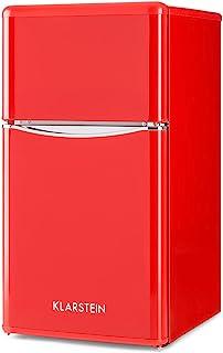 Klarstein Monroe Red 2020 Edition - Nevera con congelador,