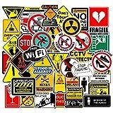 Pegatinas de Advertencia Señales de prohibición de...