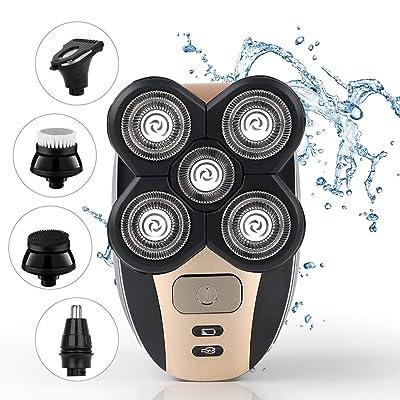 Head Shaver Waterproof 5-in-1 Electric Razor