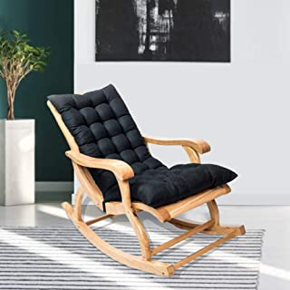 Creacom Cojines para sillas de Patio, Cojines para tumbonas, Cojines para Patio con luz Solar, Cojines para tumbonas para Interiores y Exteriores, Cojín para sofá Mecedora con Gamuza