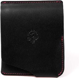 【HUKURO】JITAN 財布 二つ折り 薄い コンパクト 右利き用 本革 栃木レザー