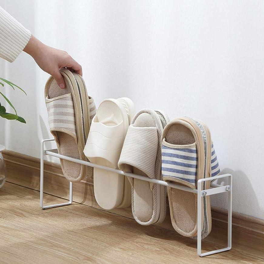 勇敢な疎外テセウススリッパラック 靴ラック 5足収納可 靴ホルダー シューズ スタンド 玄関 靴収納 収納力抜群 組み立て簡単
