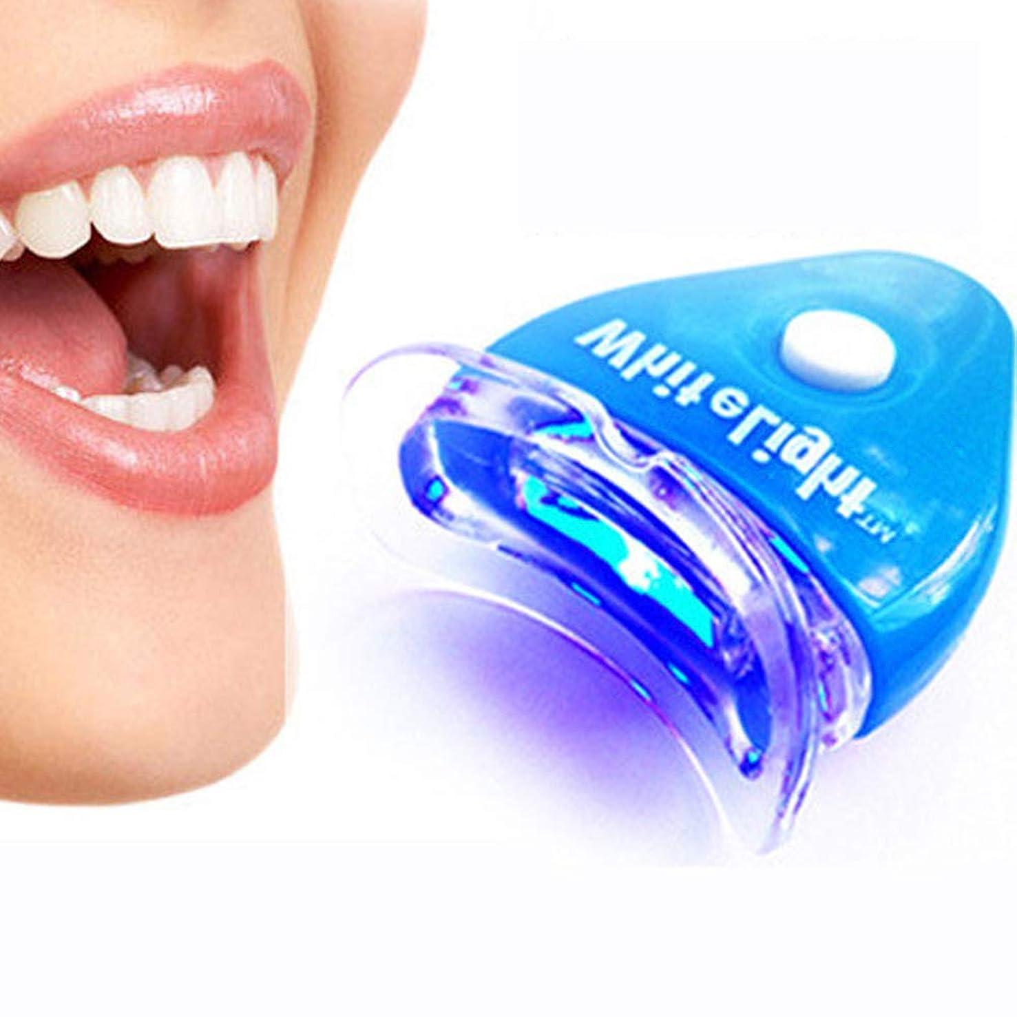 惨めな脅威プリーツIPO 歯ホワイトニング器 歯美白器 美歯器 歯 ホワイトニング ホワイトナー ケア 歯の消しゴム 歯科機器 口腔ゲルキット ブルー