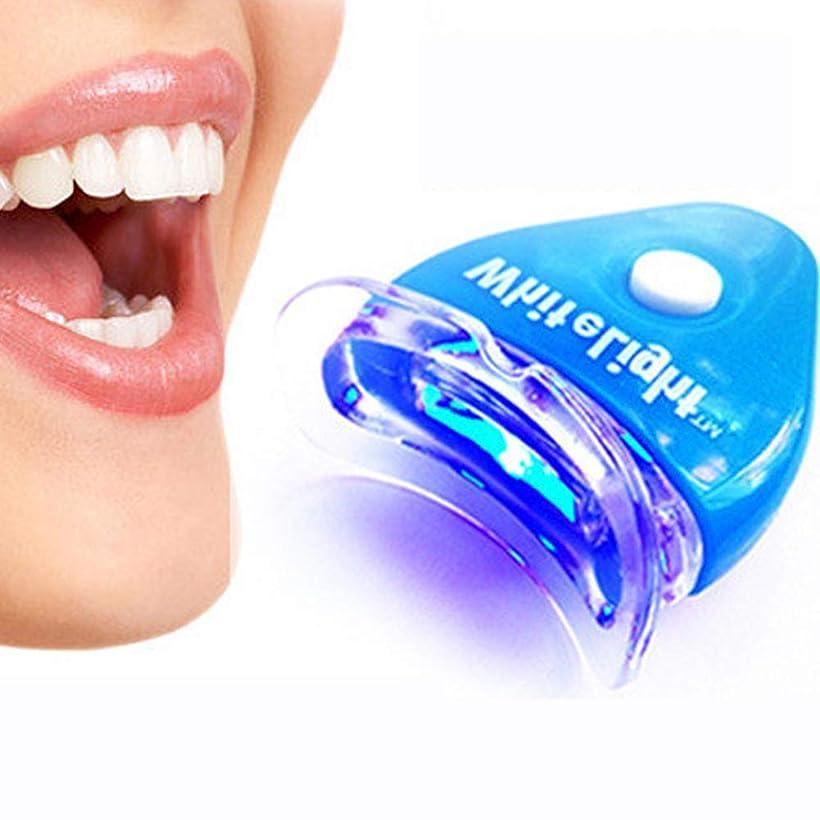 関与する抽象化予防接種IPO 歯ホワイトニング器 歯美白器 美歯器 歯 ホワイトニング ホワイトナー ケア 歯の消しゴム 歯科機器 口腔ゲルキット ブルー