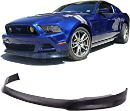 GT-Speed for 2013-2014 Ford Mustang GT V6 V8 STL Street Style PU Front Bumper Lip (Will Not Fit Shelby/GT500 Bumper)