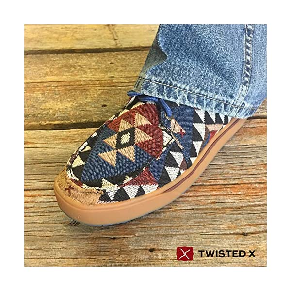 Twisted X Men's Hooey Smooth Leather Casual Shoes Moc Toe