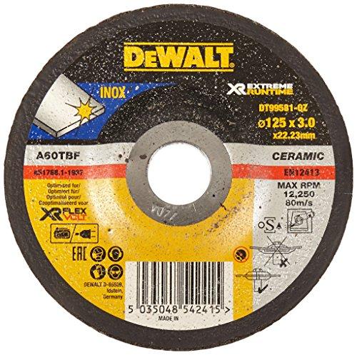 Preisvergleich Produktbild Dewalt DT99581-QZ XR Extreme Runtime Schruppscheibe Metall gekr 125x3mm,  One size