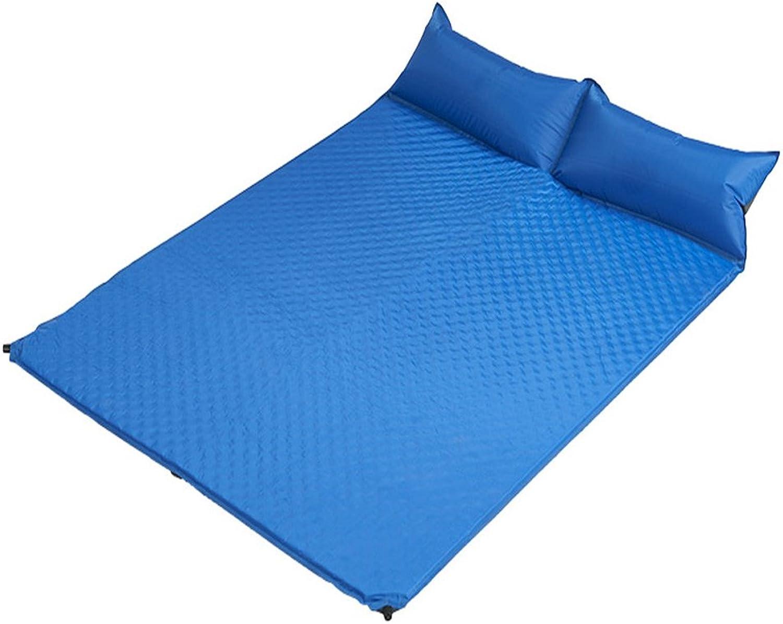Zhi BEI MoistureProof Pad SelfInflatable Sleeping Pad Lightweight Pillowed Camping, Backpack, Hiking 185  130  2.5cm