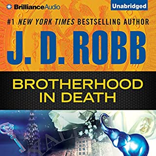 Brotherhood in Death     In Death Series, Book 42              Auteur(s):                                                                                                                                 J. D. Robb                               Narrateur(s):                                                                                                                                 Susan Ericksen                      Durée: 13 h et 37 min     15 évaluations     Au global 4,8