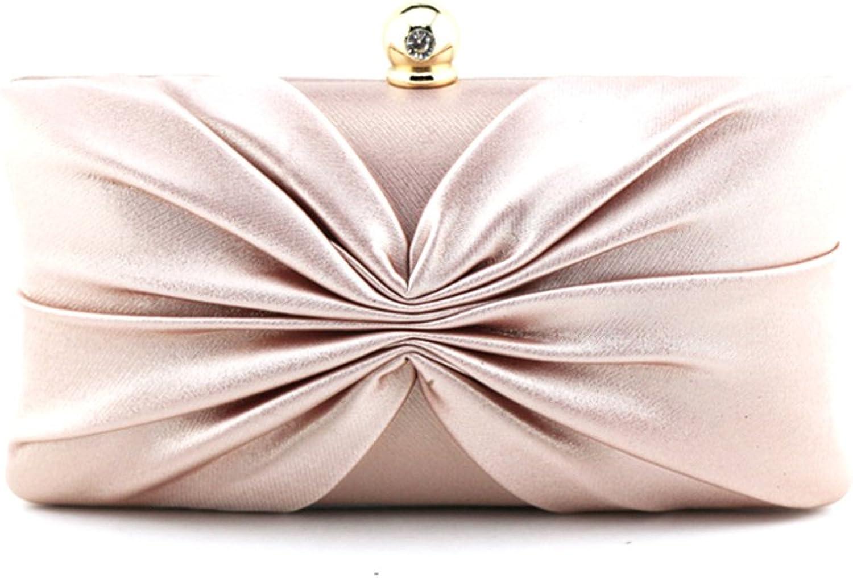 Iber Bolsos Wedding Bridal Prom Evening Handbag Clutch Bag with Metallic Luster W1283