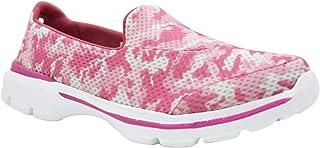 KazarMax Women's Pink Camo Slipon's Walking Sneakers/Shoes