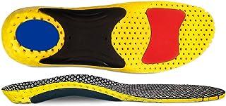 Plantillas ortopédicas de longitud completa con soportes para el arco Inserciones ortopédicas para pies planos, plantillas de zapatos para fascitis plantar, dolor en los pies
