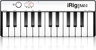 IK Multimedia iRig Keys MINI 25-key universal keyboard controller for iPhone, iPad, Android and Mac/PC