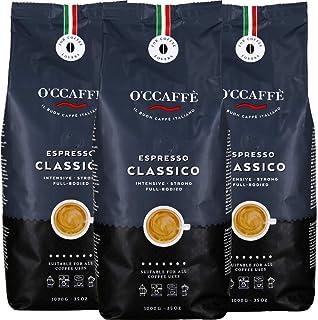 O'Ccaffè Espresso Classico Granos de Café 3 Paquetes 3000 g