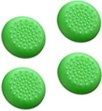 Fosmon [Set of 4] Analog Stick Joystick Controller Performance Extended Thumb Grips for Xbox One | Xbox One X | Xbox One S | Xbox One Elite (Solid Green)