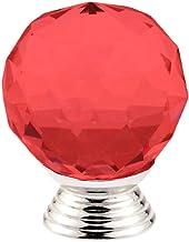 GAXQFEI deurklink kast deurklink 10 stks 30 mm Crystal Ball Design Crystal Glass knoppen kast lade Pull keukenkast kast ha...