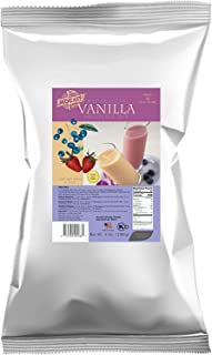 MOCAFE Madagascar Vanilla Smoothie Mix, 3-Pound Bag Instant Frappe Mix, Coffee House Style Blended Drink Used in Coffee Shops