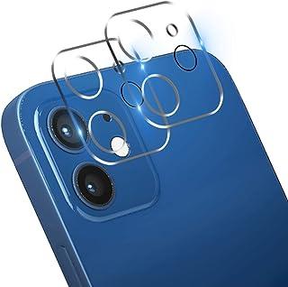 【2枚セット】 For iPhone 12 MINI 用 カメラフィルム 液晶強化ガラス 全面フルカバー 日本旭硝子製 カメラレン保護フィルム/9H硬度/ 汚れに強い/極薄/透过率99.9%/防滴/防塵/全体保護 For iPhone 12 M...