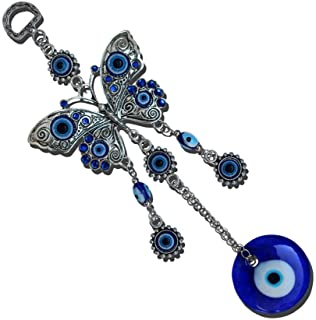 Best MUYE Blue Evil Eye Hanging Decoration Amulet Wall Hanging Home Decor Car Pendant (HDIE) Review