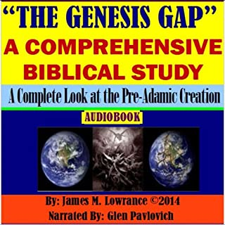"The ""Genesis Gap"" audiobook cover art"