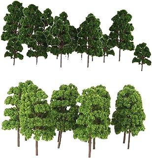 Samlarobjekt Tåg Järnväg Landskap Dekorativa Prop Tree Modeller HO ZN 30x