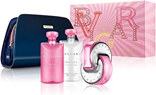Bvlgari Omnia Pink Sapphire By Bvlgari 4 Piece Gift Set - 2.2 Oz Eau De Toilette Spray, 2.5 Oz Body Lotion, 2.5 Oz Showe