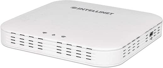 Punto de acceso Intellinet 525831 / enrutador inalámbrico manejable PoE Gigabit Dual-Band AC1300 Workstation color blanco