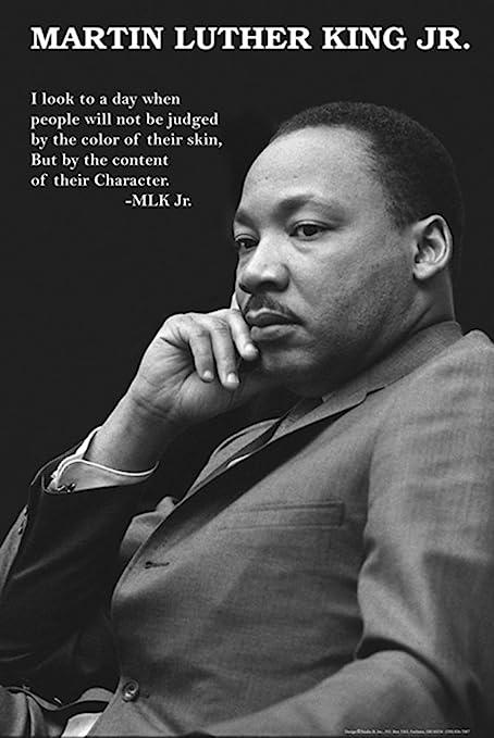 Amazon Com Studio B Martin Luther King Jr Character Poster Artwork Posters Prints