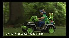 Amazon.com: Fisher Price Jeep Wrangler de las Tortugas Ninja ...