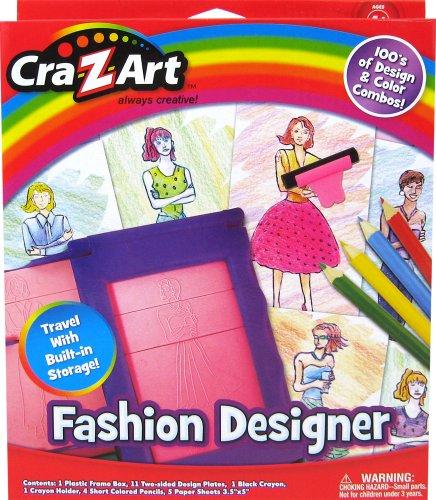 Cra-Z-Art Fashion Designer Set by CRA-Z-ART