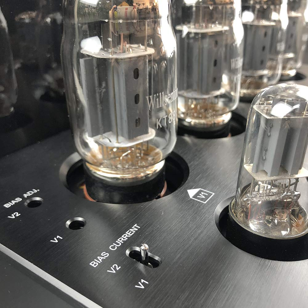Willsenton R8 KT88//EL34 x4 Tube Integrated AMP Power Amplifier Headphone Black