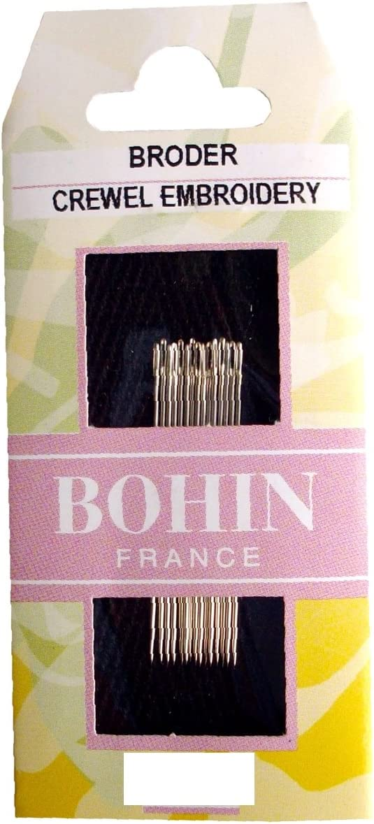 Popular Bohin Crewel Embroidery Needles Size 7 Per Package Cheap bargain 15