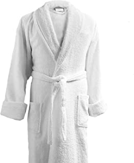 Terry Cloth Bathrobe in a Variety of Colors - 100% Egyptian Cotton - Luxurious, Soft, Plush Durable Robe