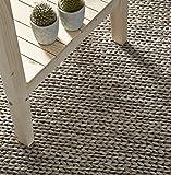 Creative Carpets Alfombra, Yute, Gris Claro, 80 x 120 cm