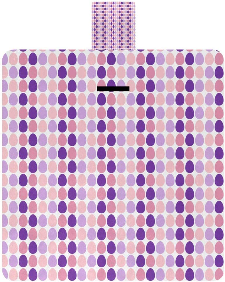 MAPOLO sold out Free shipping Purple Easter Eggs Picnic Blanket Blan Outdoor Waterproof