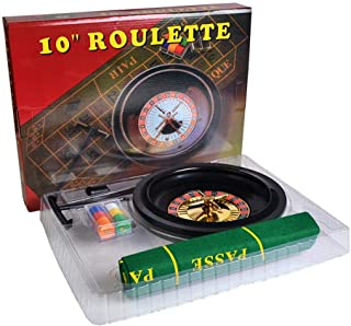 fuluzor Jeu de Roulette Automatique de Jeux Casino à Piles