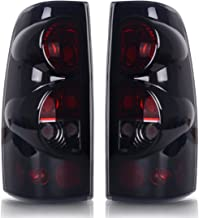 Taillights Tail Lamps For Chevy Chevrolet Silverado 1500 2500 3500 1999-2006 & 2007 with Classic Body Style GMC Sierra 1500 2500 3500 1999-2002 (Do Not Fit Barn Door/Stepside Models) ATTL0203