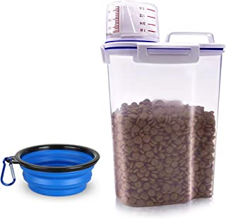 plastic container for dog food