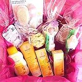 MAXI Canastilla Ecológica 'Weleda BIO Baby Girl' | Set de Productos para recién nacidos con: 4...