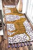nuLOOM Thomas Paul Printed Fierce Tiger Runner Rug, 2' 8' x 8', Multi