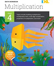 IXL | Grade 4 Multiplication Math Workbook | Fun Math Practice for Ages 9-10, 112 pgs
