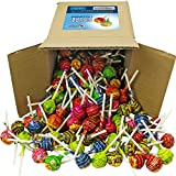 Chupa Chups Lollipops, Assorted Flavors in 6x6x6 Box Bulk Candy