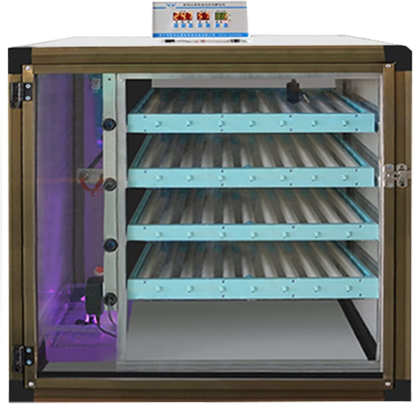 YAWEDA Large Free Factory outlet shipping Egg Incubator Humidity Contro Automatic Temperature