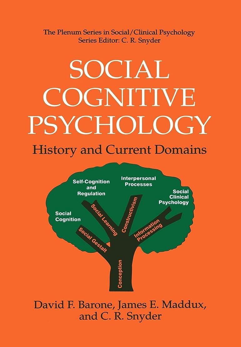文言レザーの前でSocial Cognitive Psychology: History and Current Domains (The Springer Series in Social Clinical Psychology)