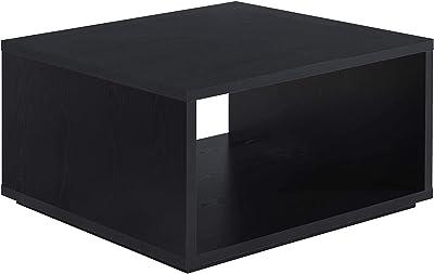 Convenience Concepts Northfield Admiral Square Coffee Table, Black