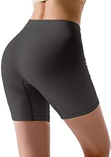 Women Seamless Boyshort Panties, Comfortable Slip Shorts for Under Dresses