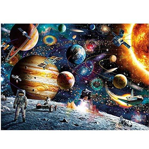 KGHJKG (Space stars universe) Rompecabezas Clásico De Madera Para Niños Adultos Rompecabezas Diy Juego De Rompecabezas Rompecabezas Manualidades Divertidas-1500 tablets