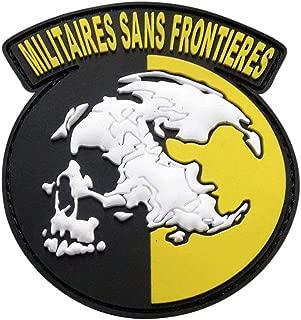 Militaires Sans Frontieres Metal Gear Solid Peace Walker Patch (PVC Rubber-3.0 inch)