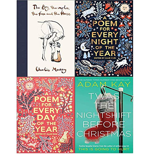 Price comparison product image The Boy The Mole The Fox and The Horse,  A Poem for Every Night of the Year,  A Poem for Every Day of the Year